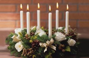 Jak zrobić stroik bożonarodzeniowy na stół?