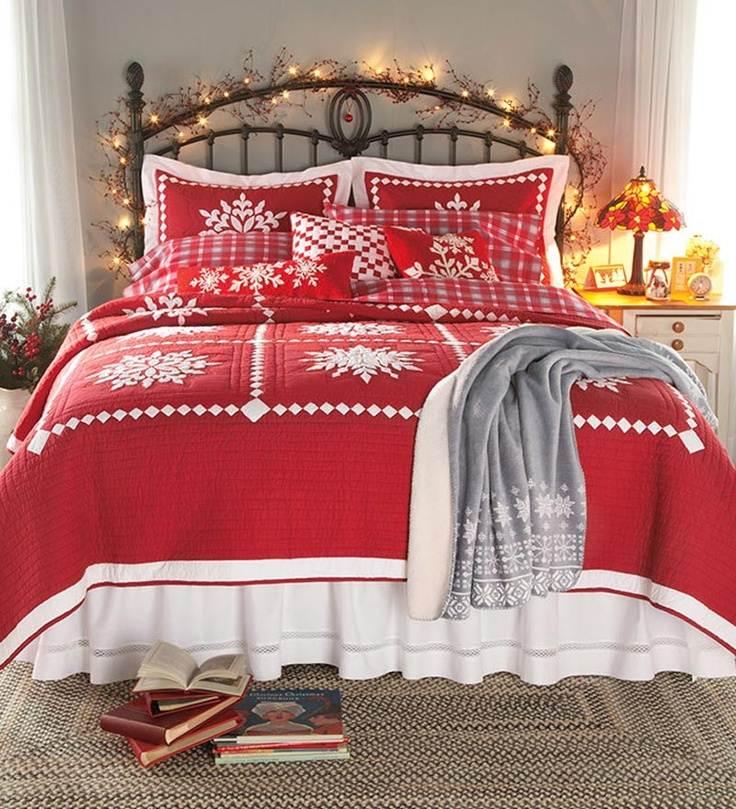 zimowa-dekoracja-sypialni