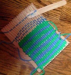 Jak zrobić krosno do tkania
