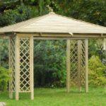 Jak zbudować drewniany pawilon ogrodowy?