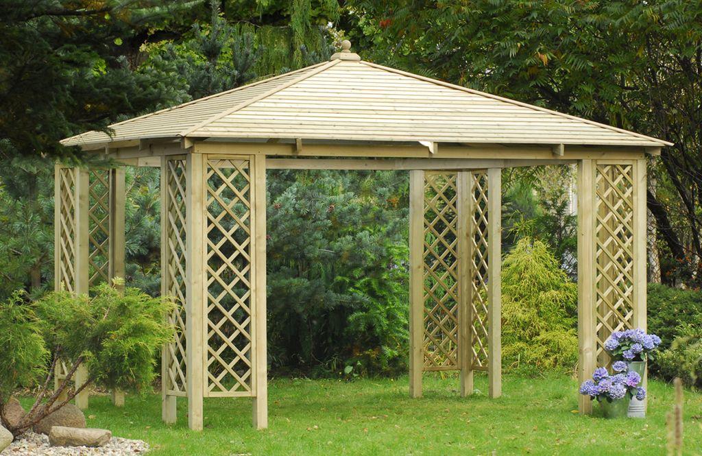 Budowa pawilonu ogrodowego